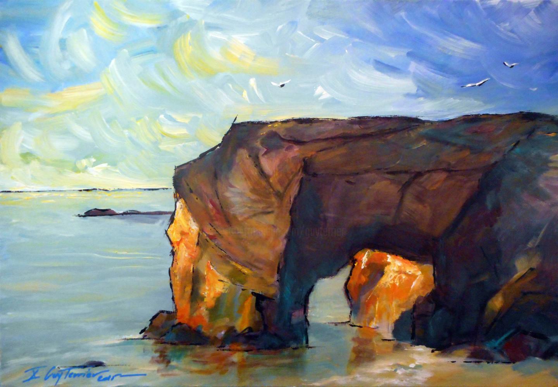 Guy Terrier - L'arche de Port-Blanc