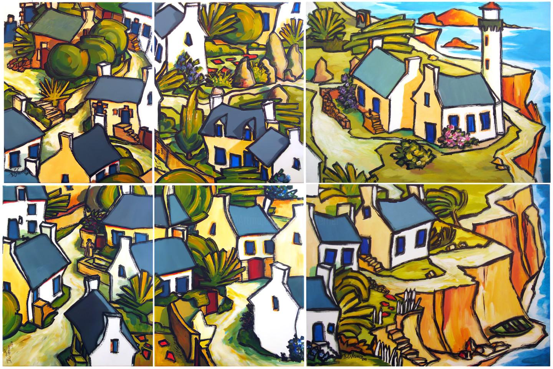 Guy Terrier - Dans un village