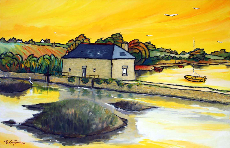 Guy Terrier - Le moulin de Paluden