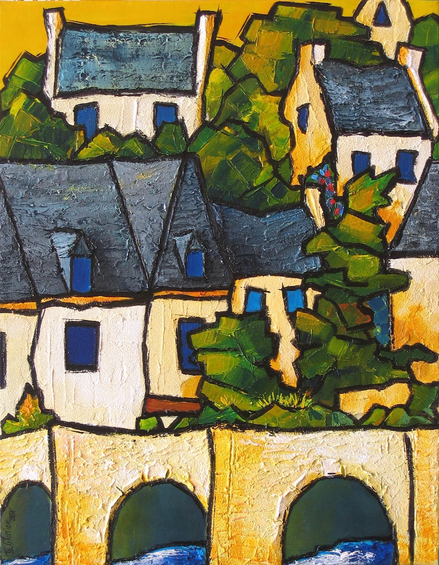 Guy Terrier - Saint Goustan, detail