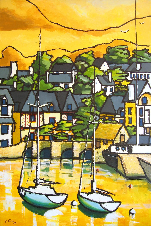 Guy Terrier - Saint Goustan, le port