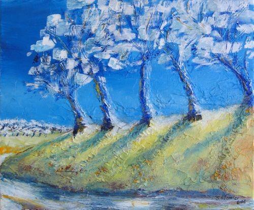 Guy Terrier - Les vergers bleus