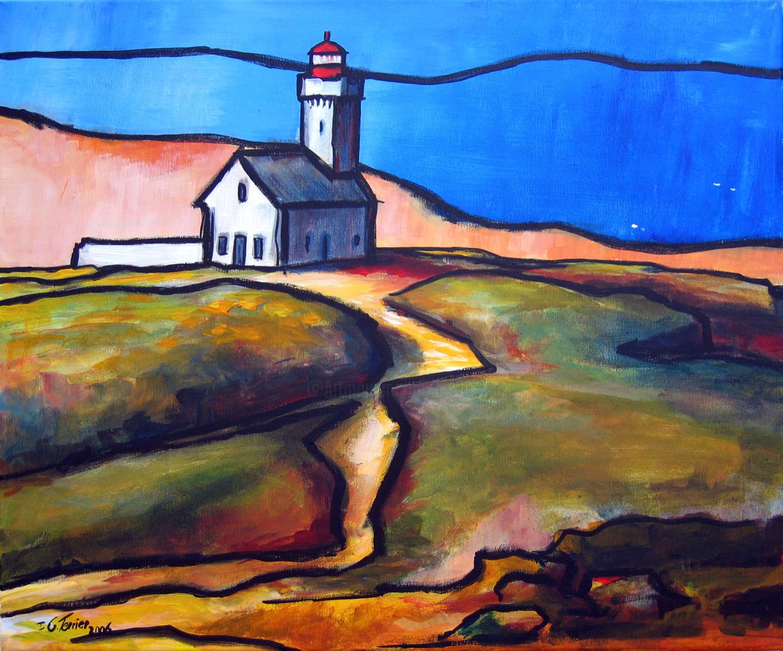 Guy Terrier - Le phare des Poulains