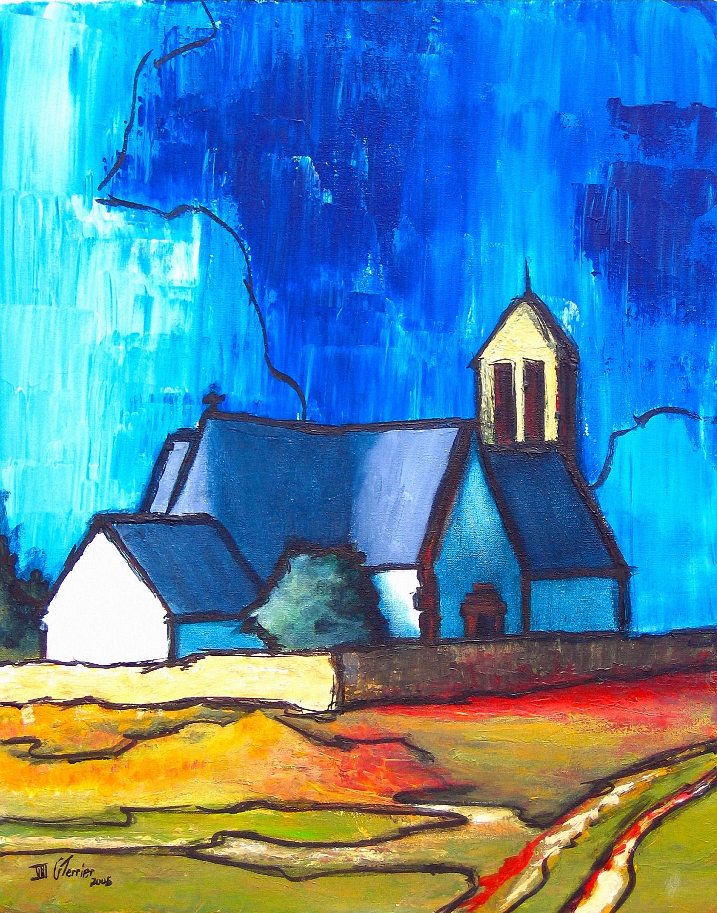 Guy Terrier - L'Eglise d'Hoedic