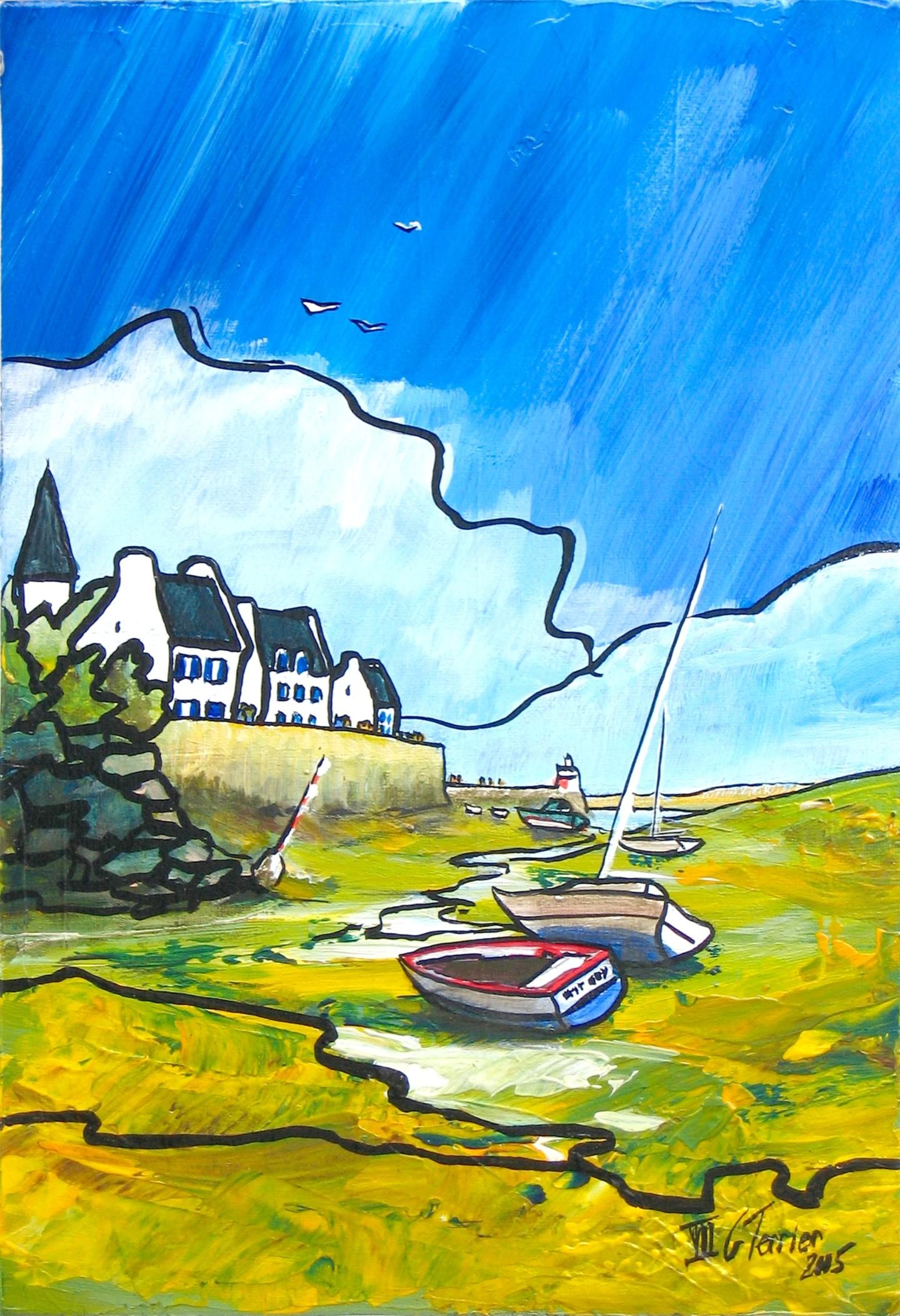 Guy Terrier - En attendant la marée