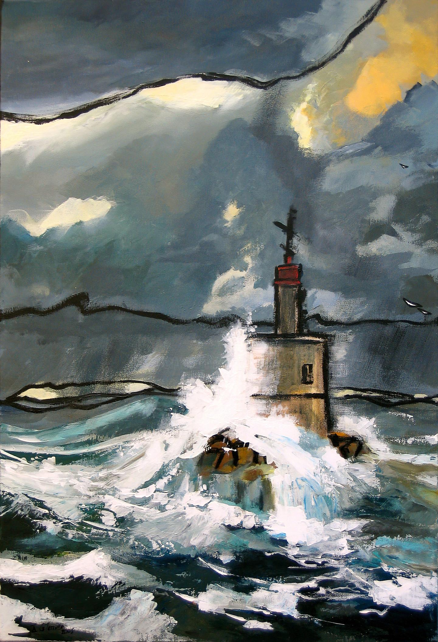 Guy Terrier - Avis de tempête sur la Teignouse
