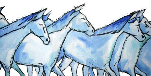Guy Terrier - La horde bleue