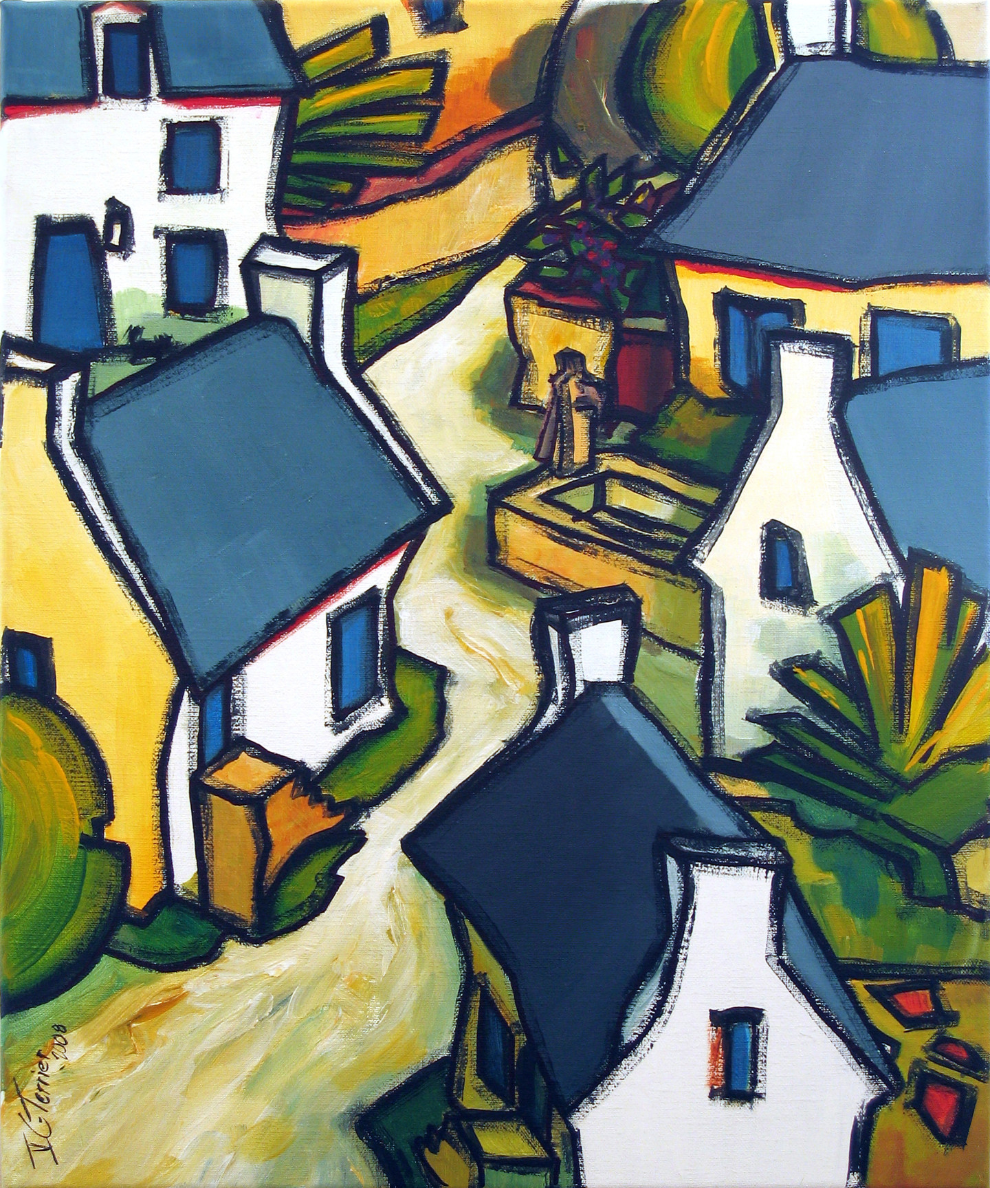Guy Terrier - Dans un village I