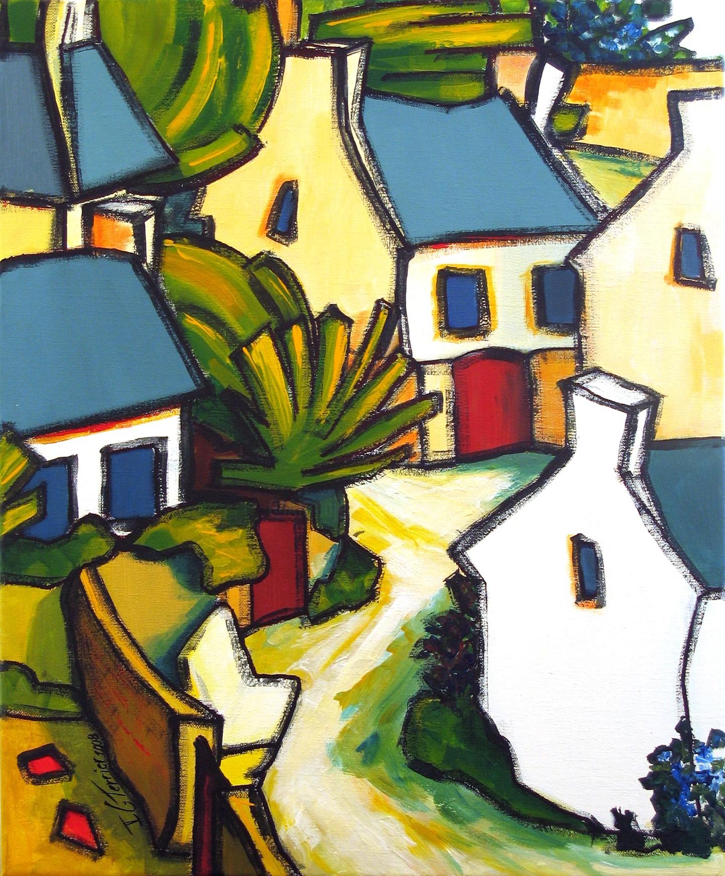 Guy Terrier - Dans un village II