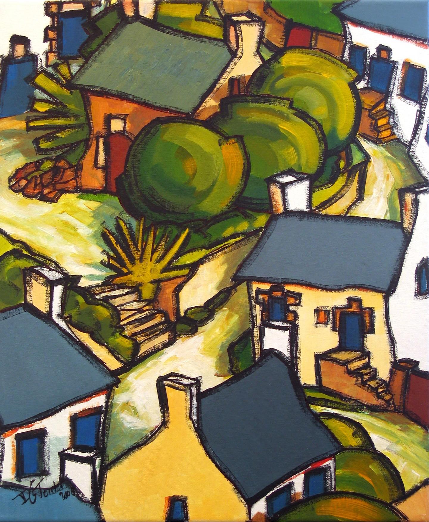 Guy Terrier - Dans un village III