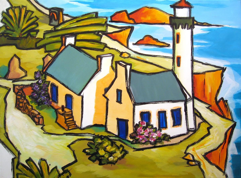 Guy Terrier - Dans un village VI