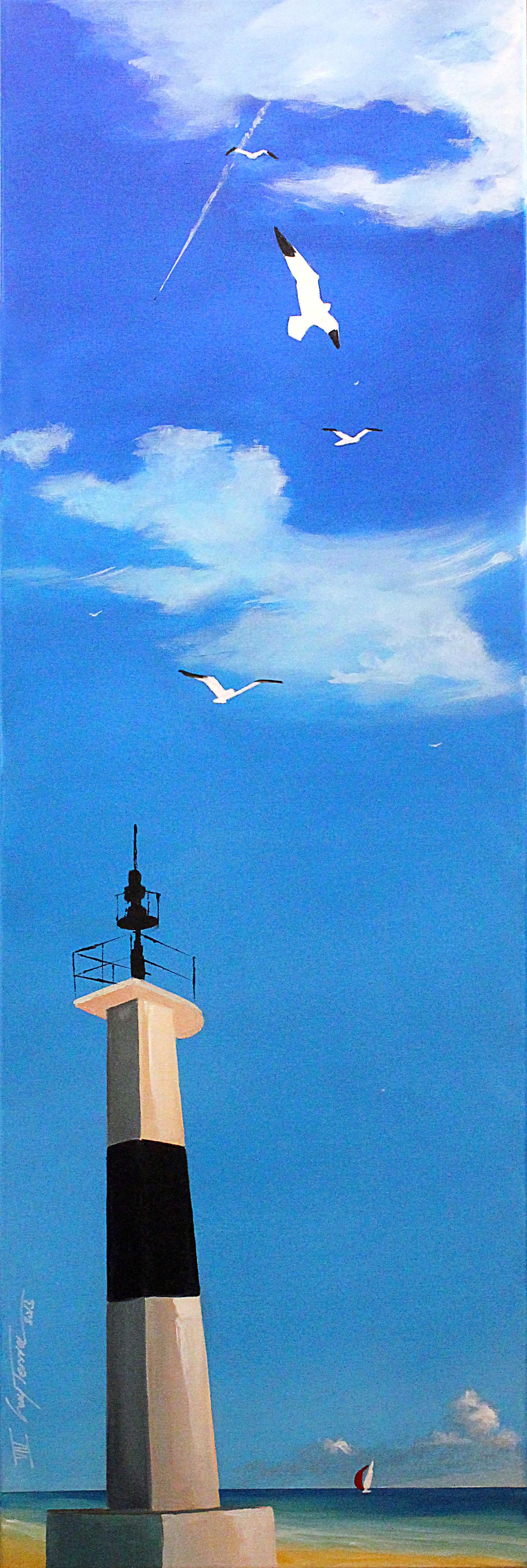 Guy Terrier - Quiberon, la bougie