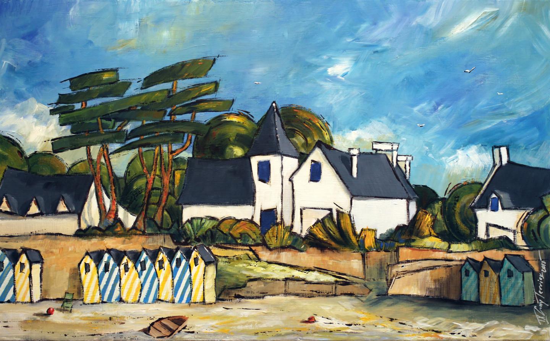 Guy Terrier - Île aux moines - La grande plage