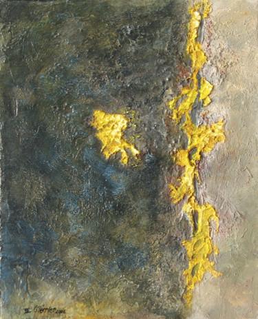 Lichen et basalt gris