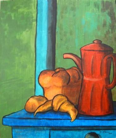 La cafetière rouge