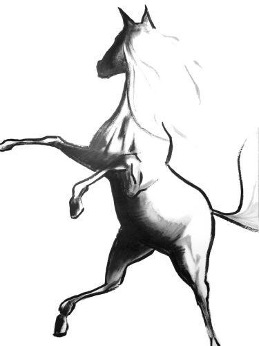 Le cheval qui danse