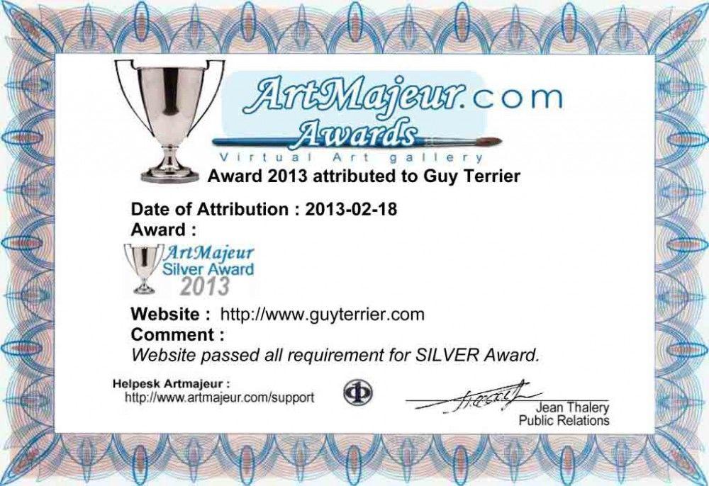ArtMajeur Silver Award 2013